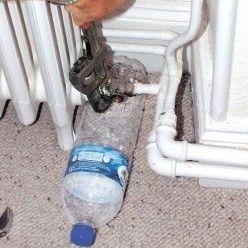 Démonter un radiateur à eau sans vidanger