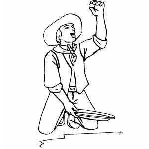 klondike gold rush coloring pages - photo#13