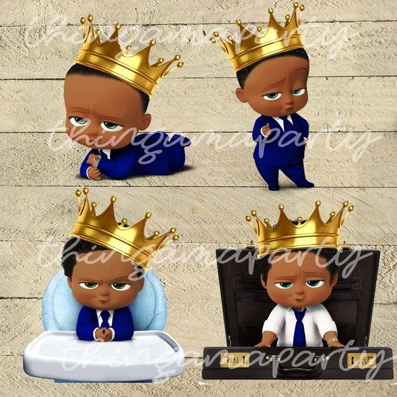 African American Boss Baby Boy Royal Prince Babies Of