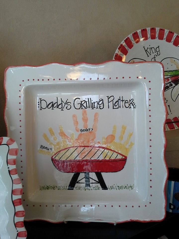 Grill platter fathers day crafts diy fathers day gifts