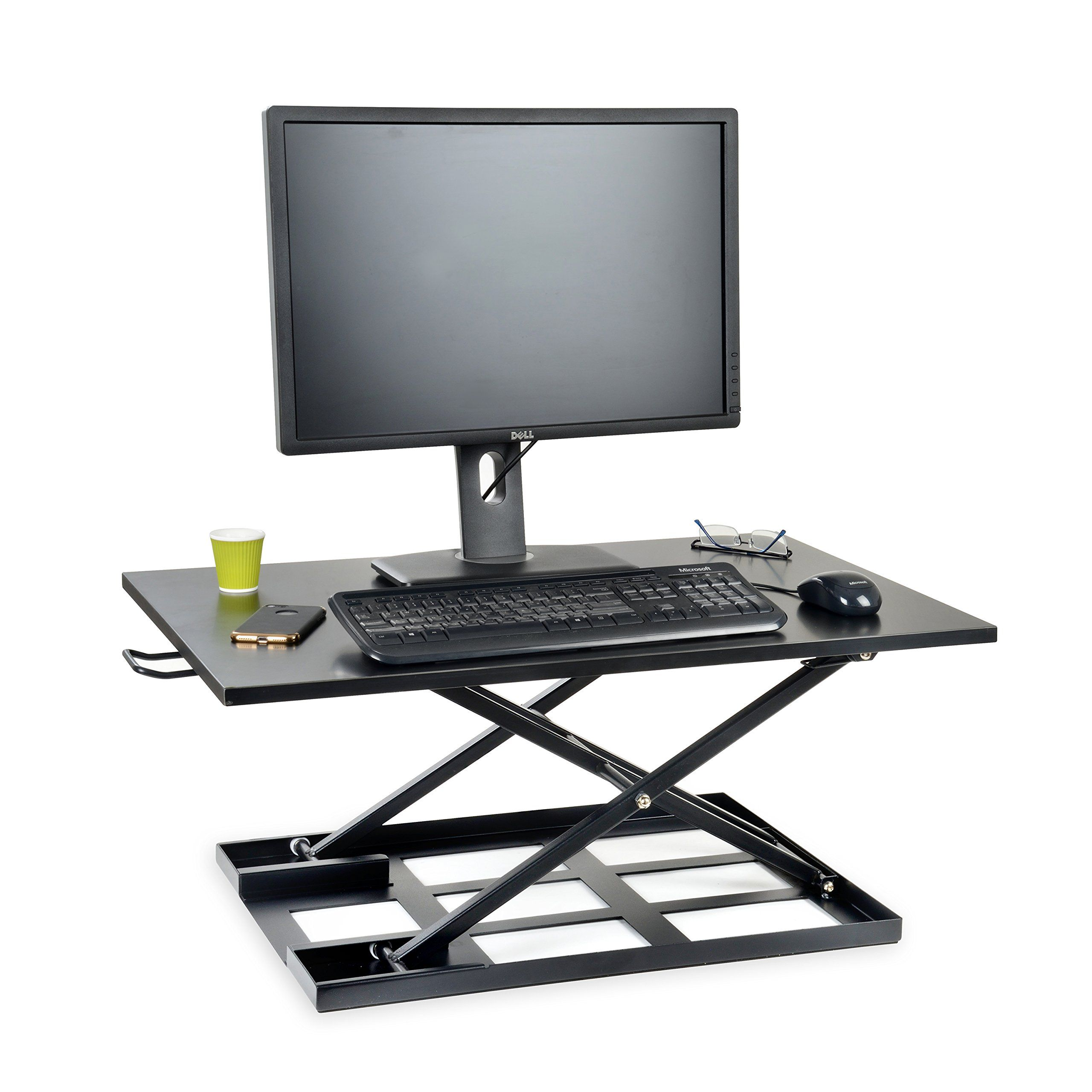 stand converter victortech rise com desk high adjustable best victor product standing large up