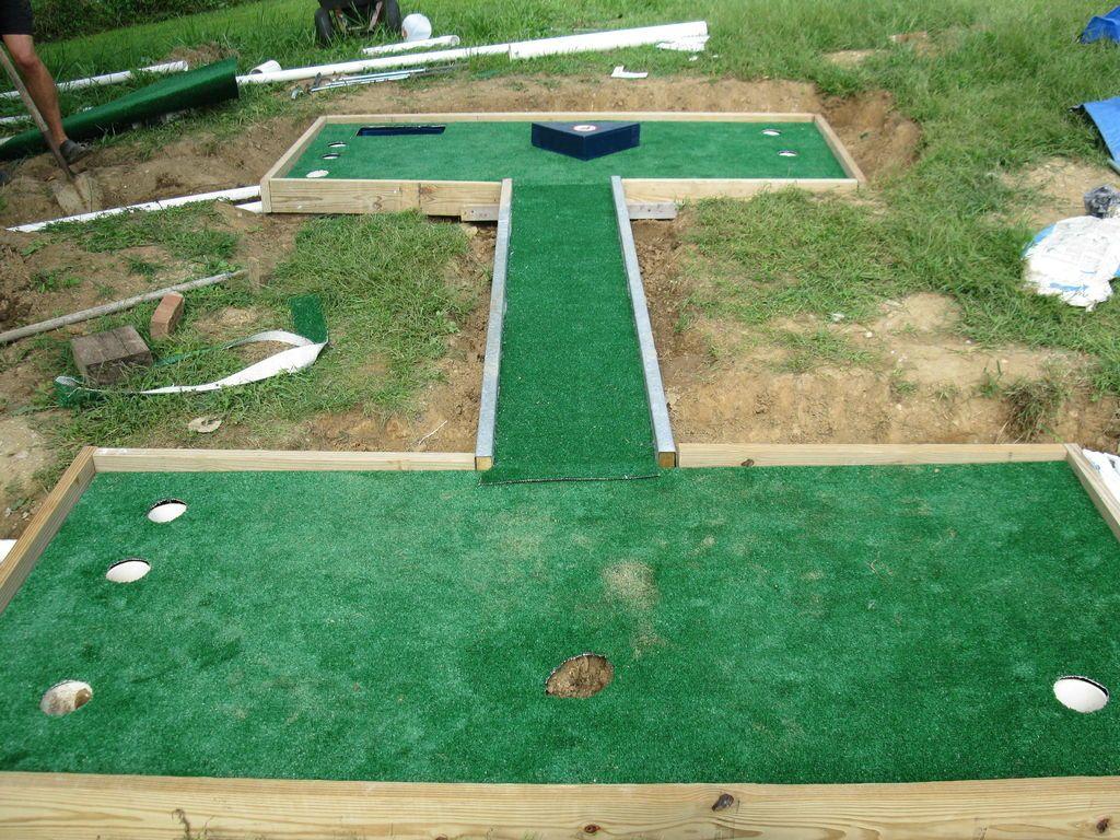 Miniature Golf Putt Putt Course Crafts