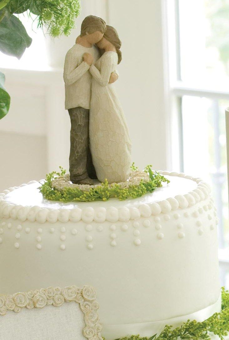 The WIllow Tree Collection PROMISE CAKE TOPPER