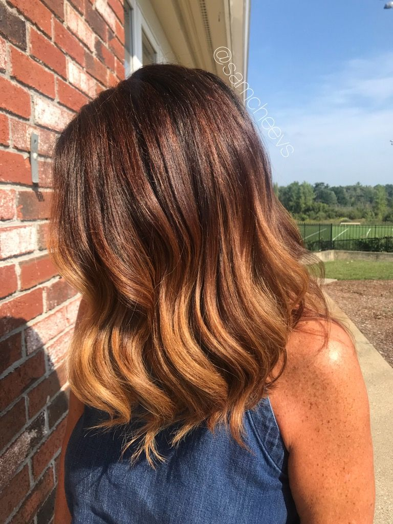 Fall Hair Color For Auburn Red Copper Brown Hair Types Shiny