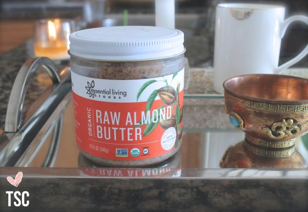 ::My raw almond butter is added to: apples with chia seeds, baby carrots, PB & J on an open faced sandwich, celery, banana slices, smoothies, oatmeal, a piece of dark chocolate, sweet potatoes, TSC two ingredient pancakes, &/or any baking recipes. Add cinnamon, pumpkin pie spice, or nutmeg for added flavor.::