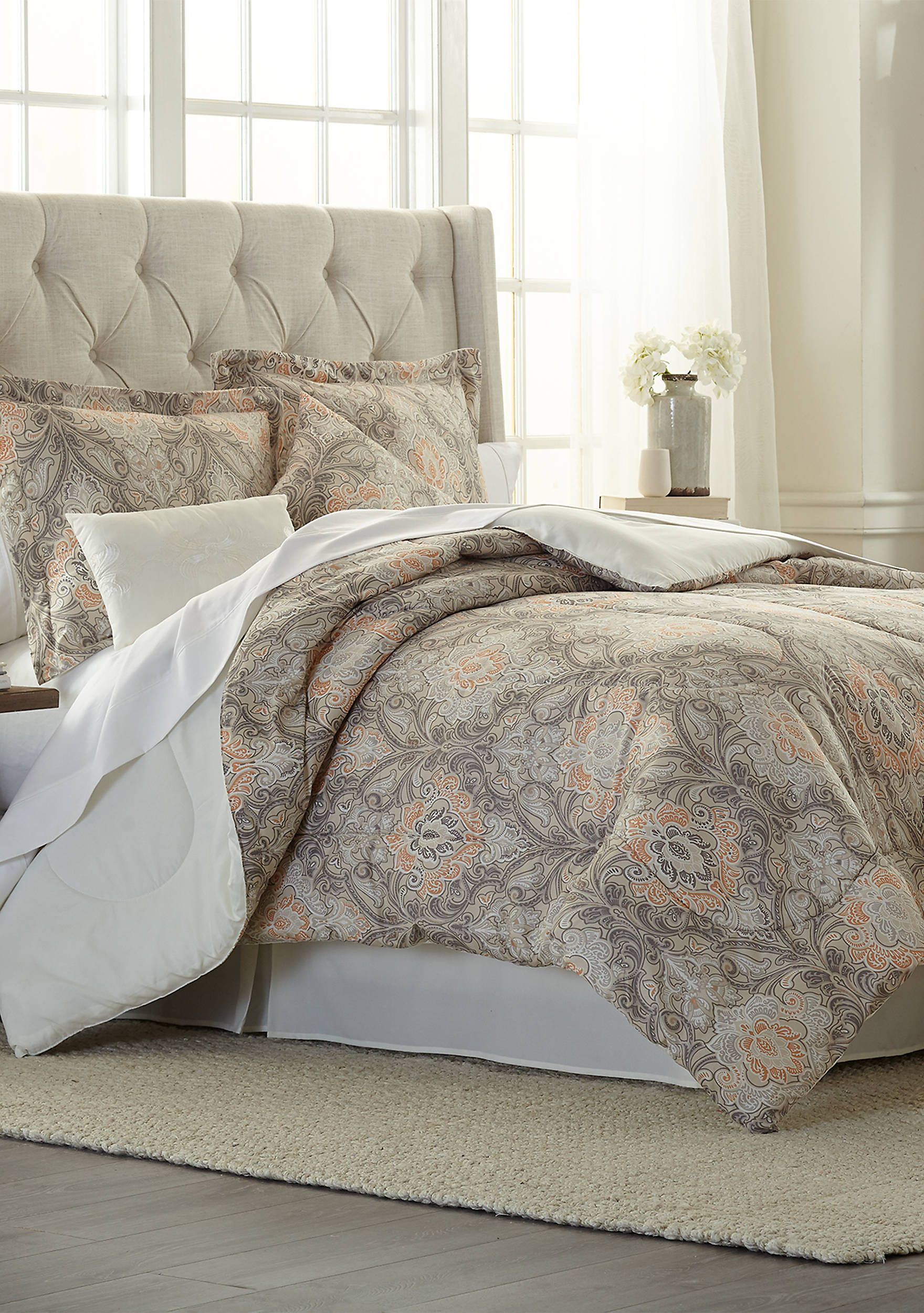 Modern Southern Home Chandler 6 Piece Comforter Bed In A Bag