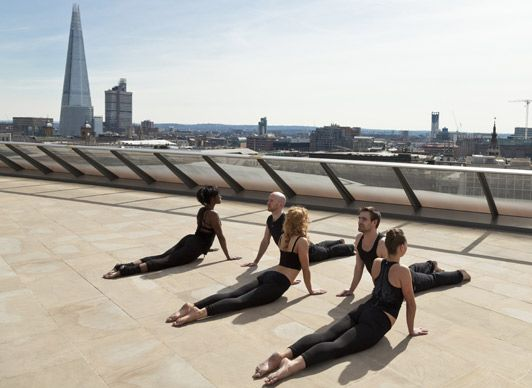 Move Pop Up Gym Source As Seen At Fashion Telegraph Co Uk Fitness Trends Rooftop Yoga Pilates