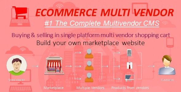 Marketplace Builder - A Complete #Ecommerce Multivendor Solution