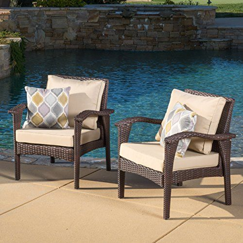 Maui Outdoor Wicker Seating Chairs