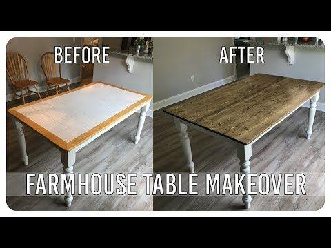 Tile Top Table Makeover Decoracao De Casa Decoracao Moveis