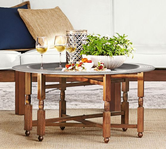 Pottery Barn Moroccan Tray Table: Marrakech Tray Coffee Table