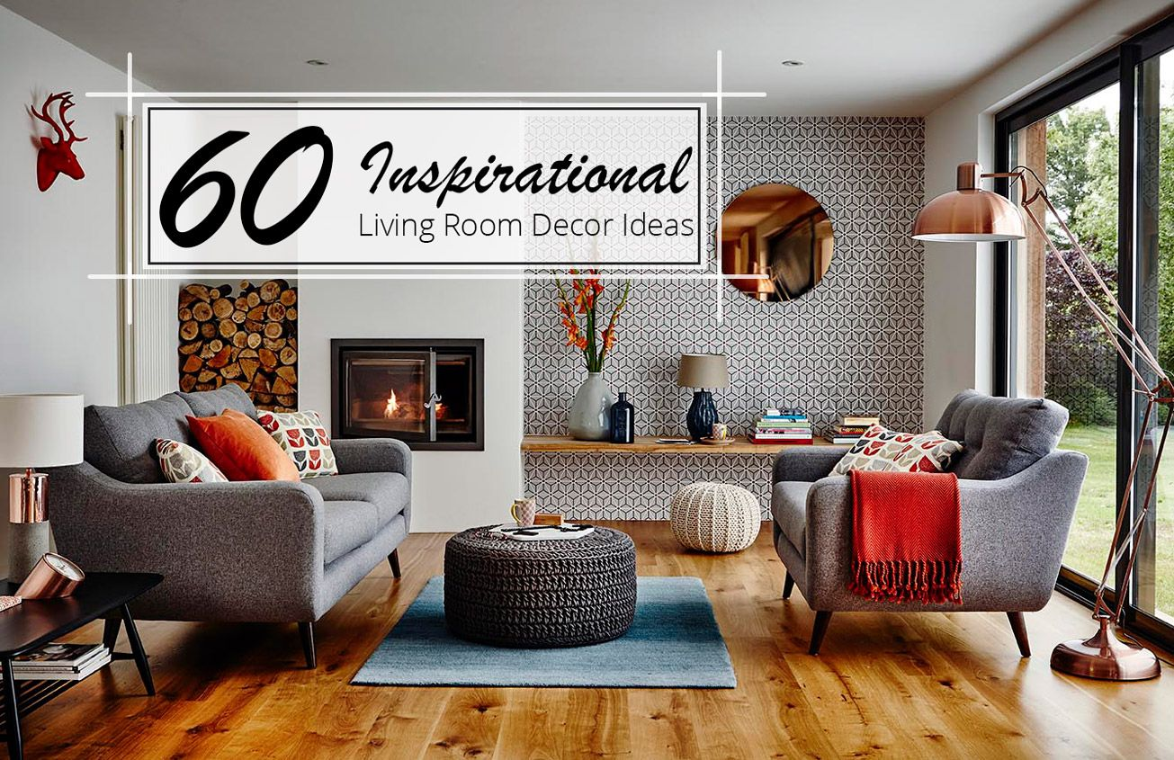 60 Inspirational Living Room Decor Ideas. Mid Century ...