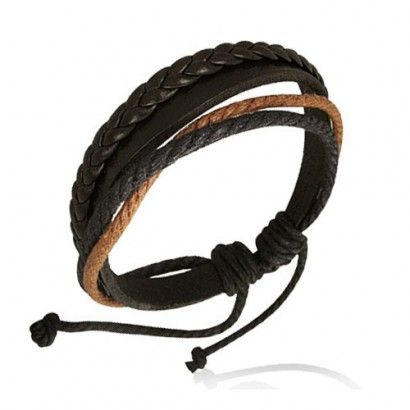 Jewelry & Watches Latest Collection Of Bracelet Cuir Multi Cordes Ajustable Fashion Jewelry
