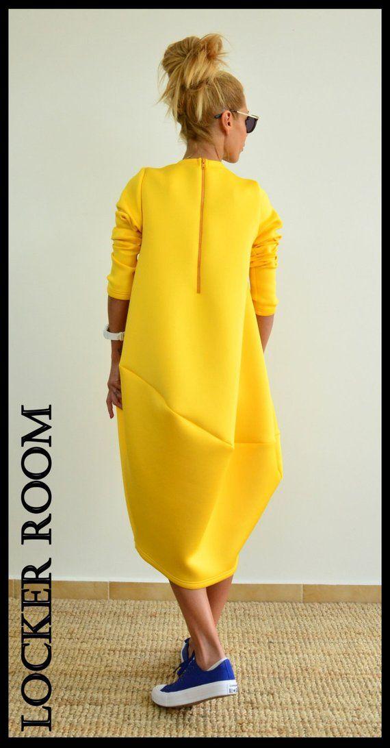 68117696e0f Maxi Dress Long Dress Yellow Dress Plus Size Dress