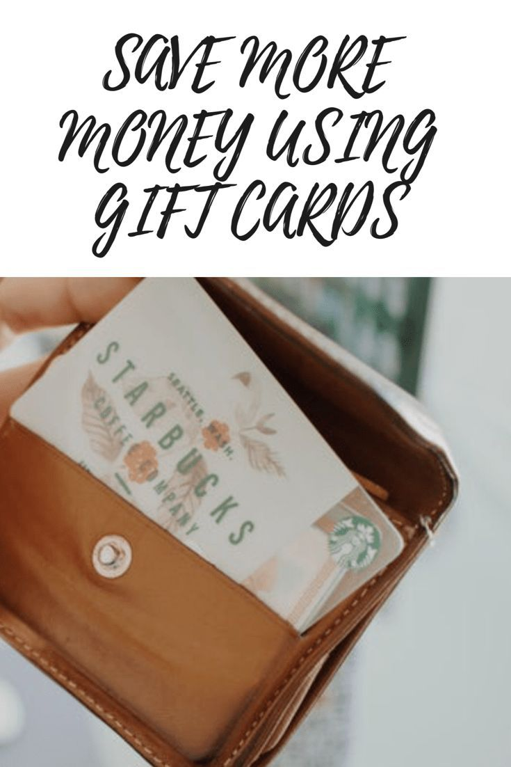 Best ways to save more money with gift cards saving