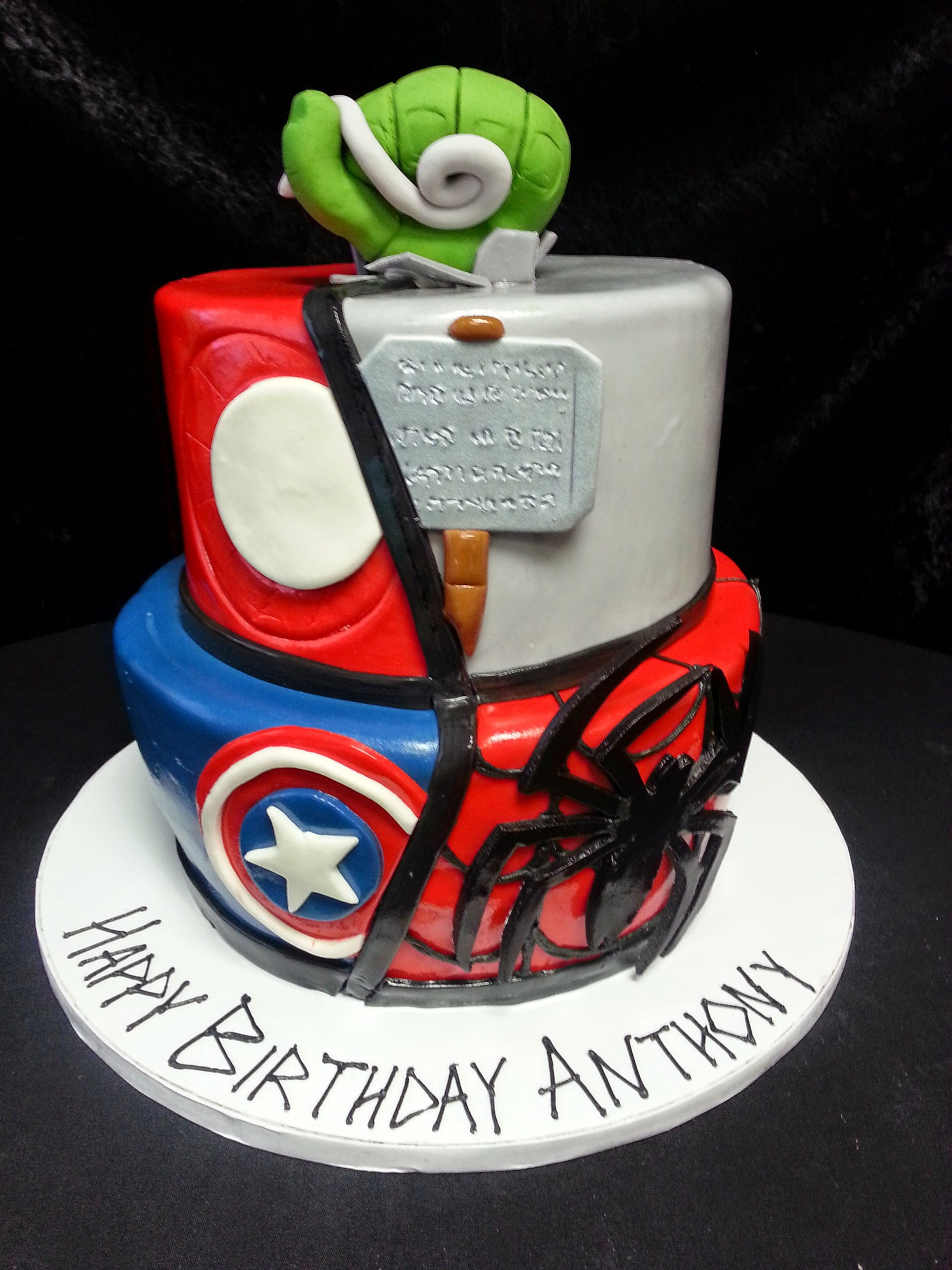 Cookie Jar Bakeshop I Custom Cakes I Birthday Cake I Spiderman