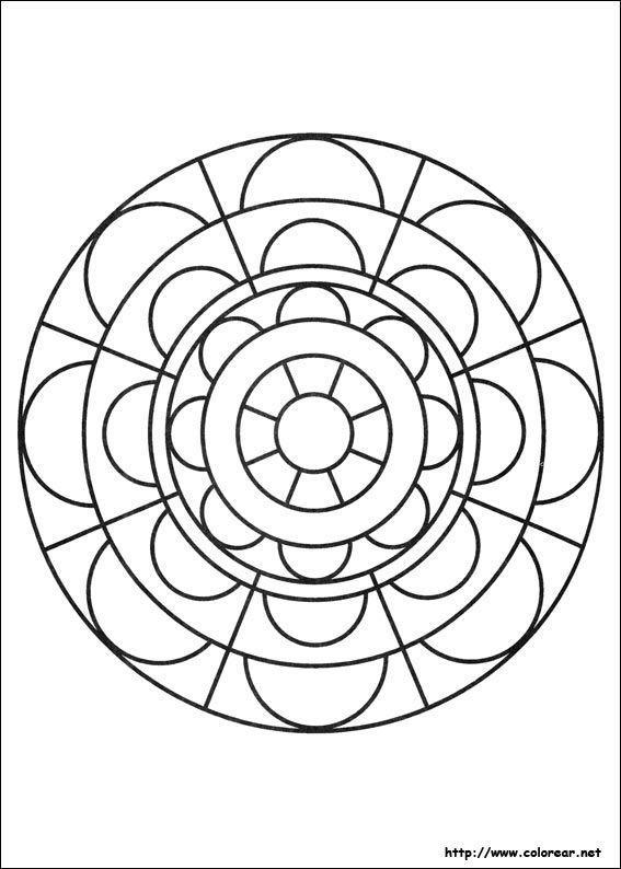Dibujo de para imprimir ! | Mandalas | Pinterest | Dibujos de ...