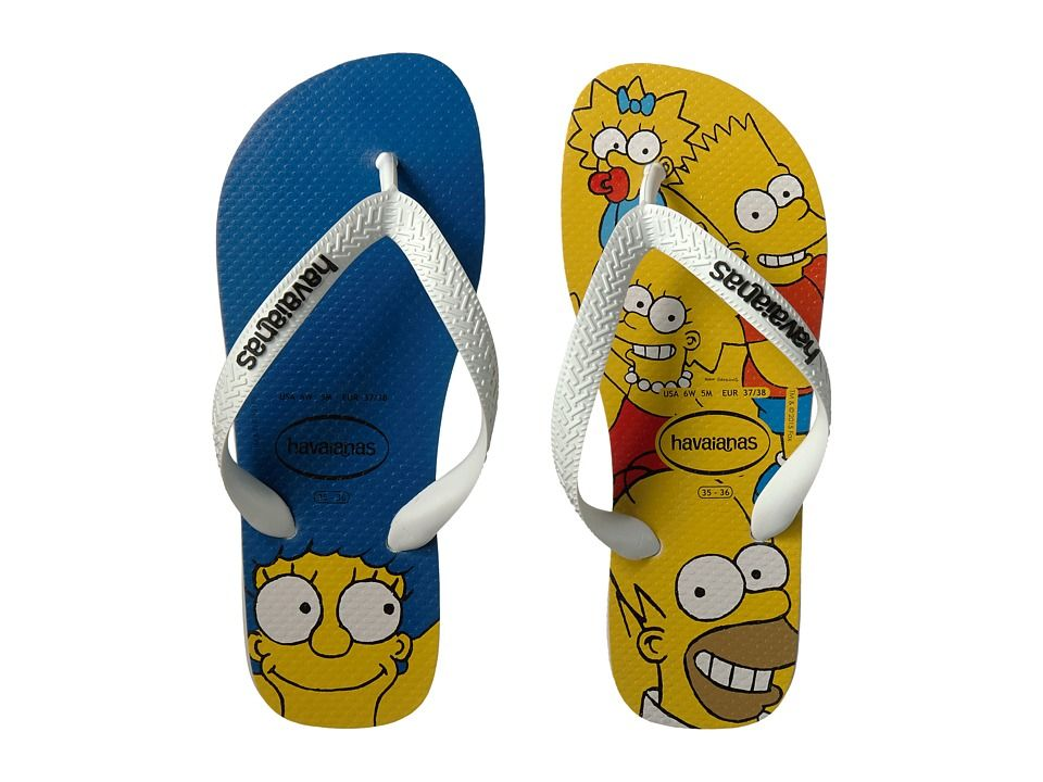 bfe36789d02 HAVAIANAS HAVAIANAS - SIMPSONS FLIP-FLOPS (WHITE) WOMEN S SANDALS.   havaianas  shoes