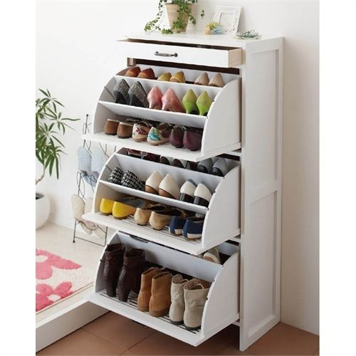 shoe storage idea for small flats AMOUR home Pinterest Storage - Meuble Chaussure Avec Porte Manteau