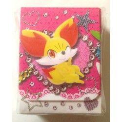 Pokemon 2013 XY Girls 90 Card DVD DX Starter Set Fennekin Froakie Chespin Swirlix Fletchling Furfrou Bunnelby Deck Box