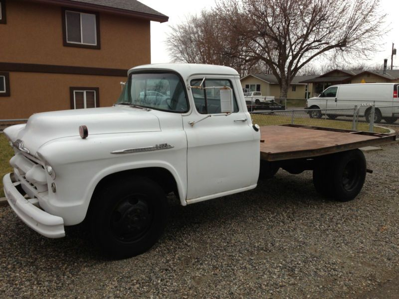 1956 Chevy Pickup Flatbed 4400 Chevy Pickups Flatbeds For