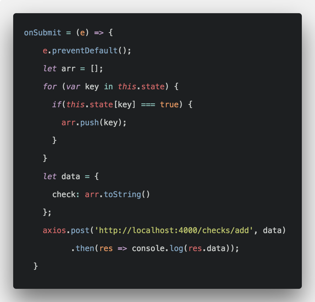How To Save Multiple Checkboxes Values in React js | React
