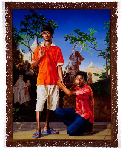 Annoyed Radha with Her Friends, 2010    Kehinde Wiley