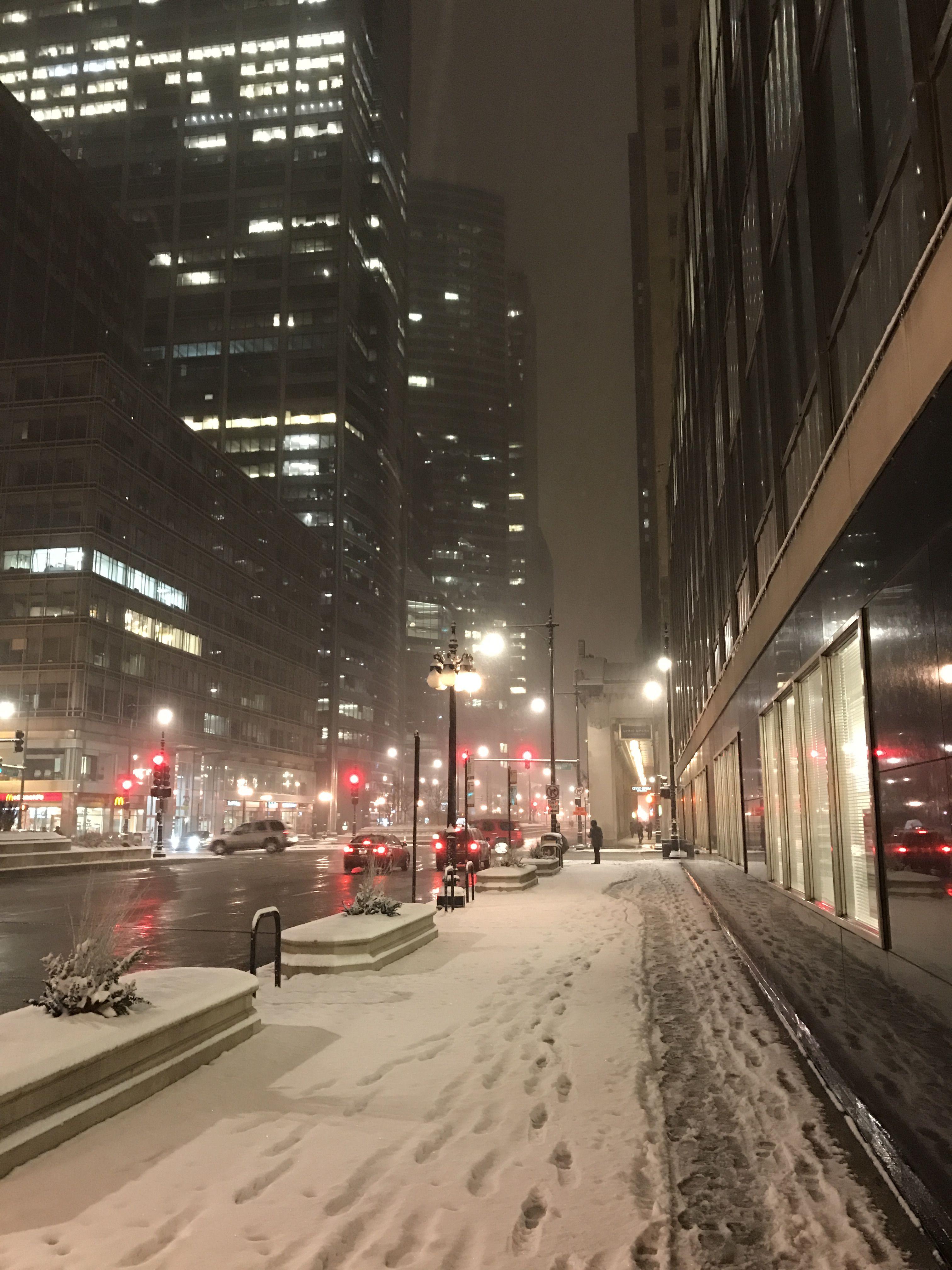 Chicago Snow 20170313 Architecture Chicago Architecture City Aesthetic