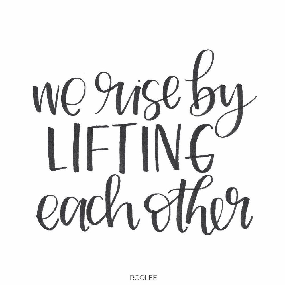 Alone We Can Do So Little Together We Can Do So Much Roolee