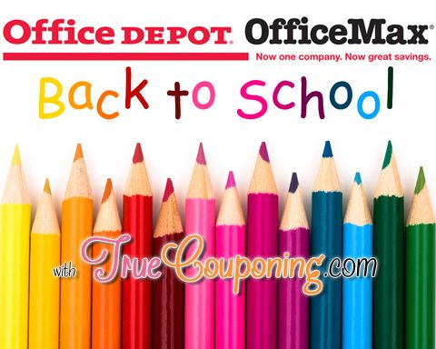 Office DepotOffice Max Back To School Deals