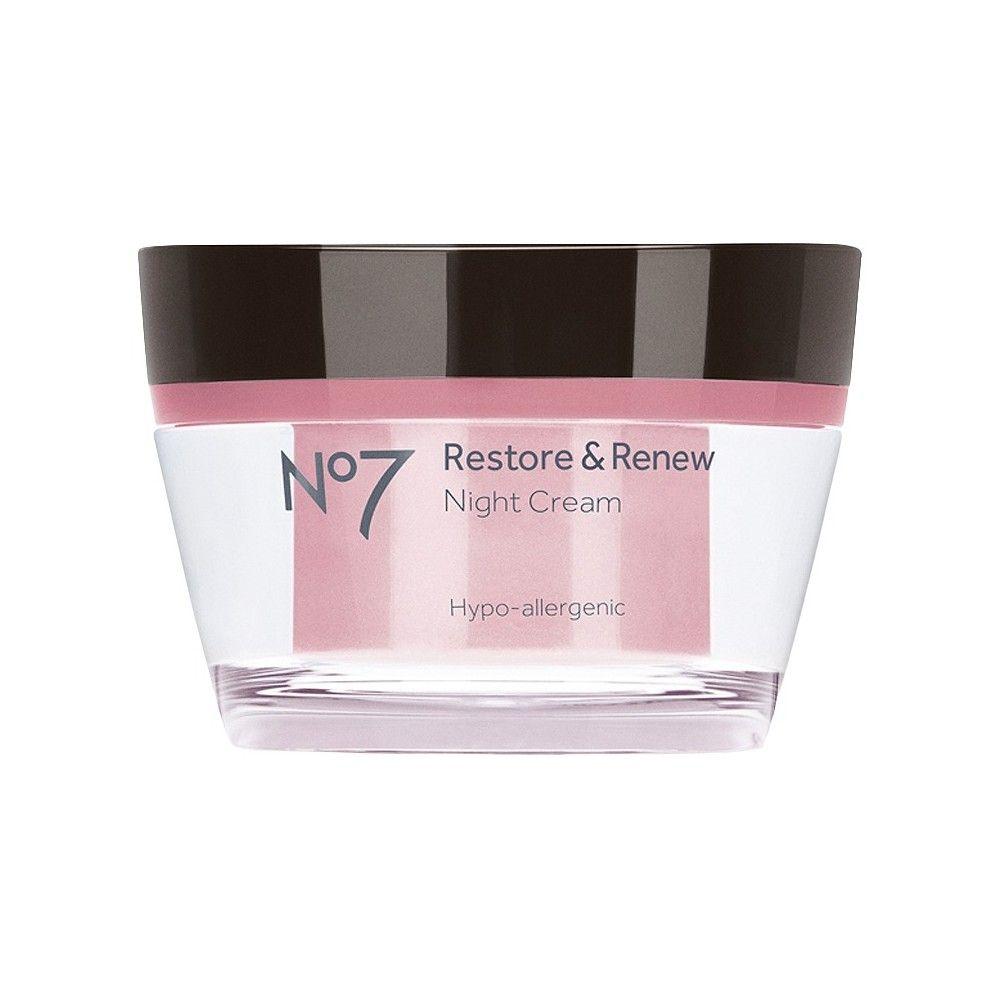 No7 Restore & Renew Night Cream - 1.69 Fl Oz