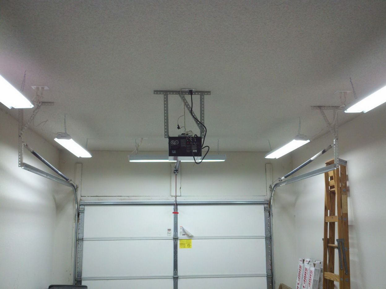 medium resolution of best images about garage lighting ideas