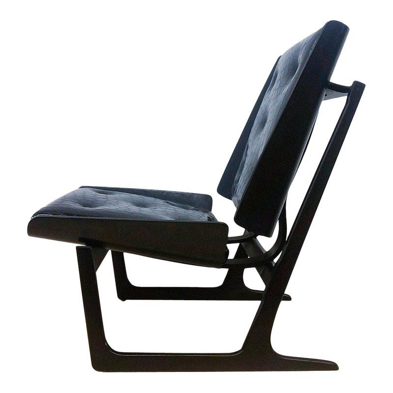 Awesome 1950S Bentwood And Leather Danish Sleigh Lounge Chair Spiritservingveterans Wood Chair Design Ideas Spiritservingveteransorg