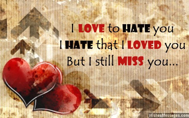 I miss you messages for ex-wife | I Miss You: Missing You