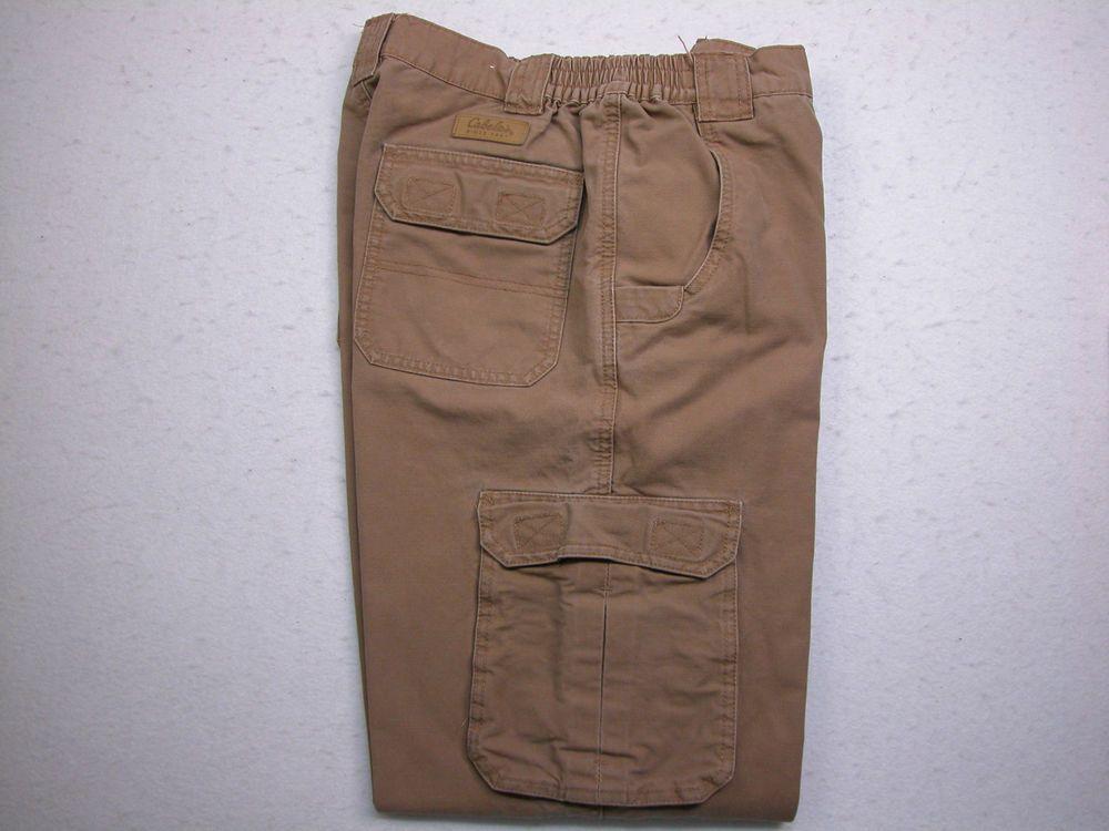 Men's CABELA'S Trail Hiker Cargo Pants 31X30 Outdoors Brown (Measure 29X28.5) #Cabelas #Cargo