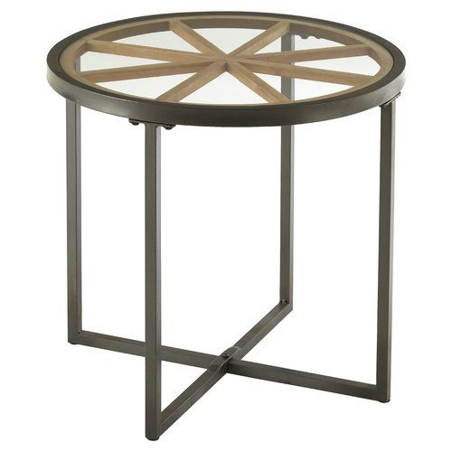 Williston Forge Willmore Side Table Table Round Side Table