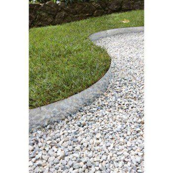 Bordure A Planter Metal Acier Galvanise Gris H 13 X L 118 Cm Bordure Jardin Decoration Jardin Et Jardins