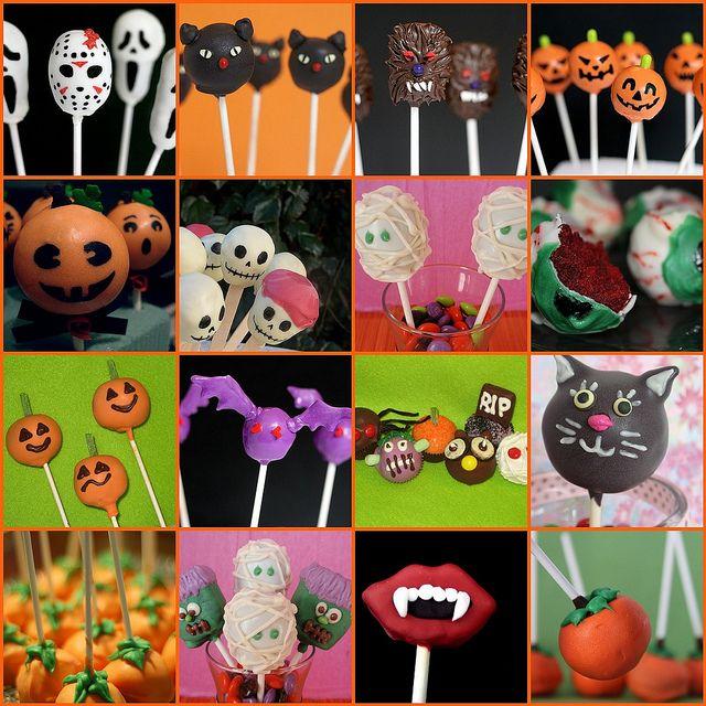 #Halloween #Cake_Pops, via Flickr by Full Circle Foodie