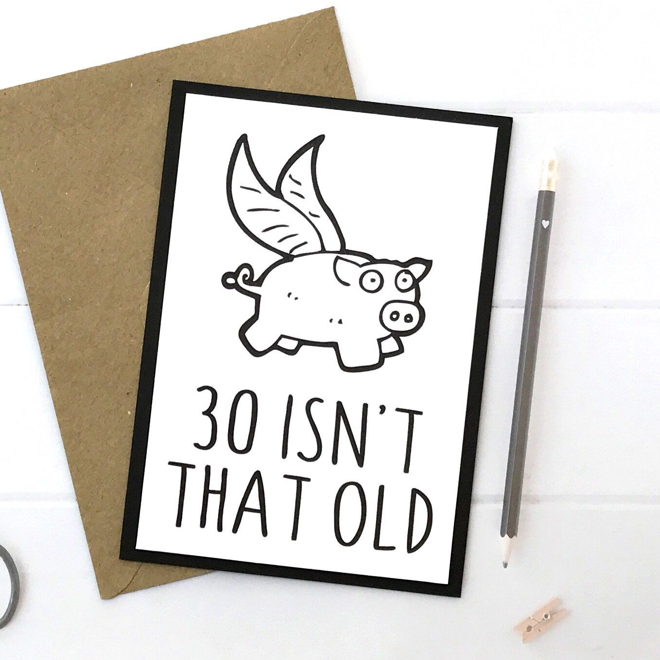 Excited To Share This Item From My Etsy Shop 30th Birthday Card Gift Personalized Custom Handmade