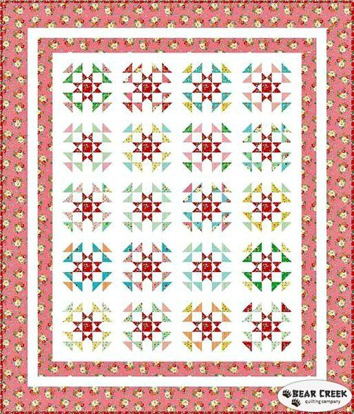 Backyard Roses Rose Garden Free Quilt Pattern Happy Quilting