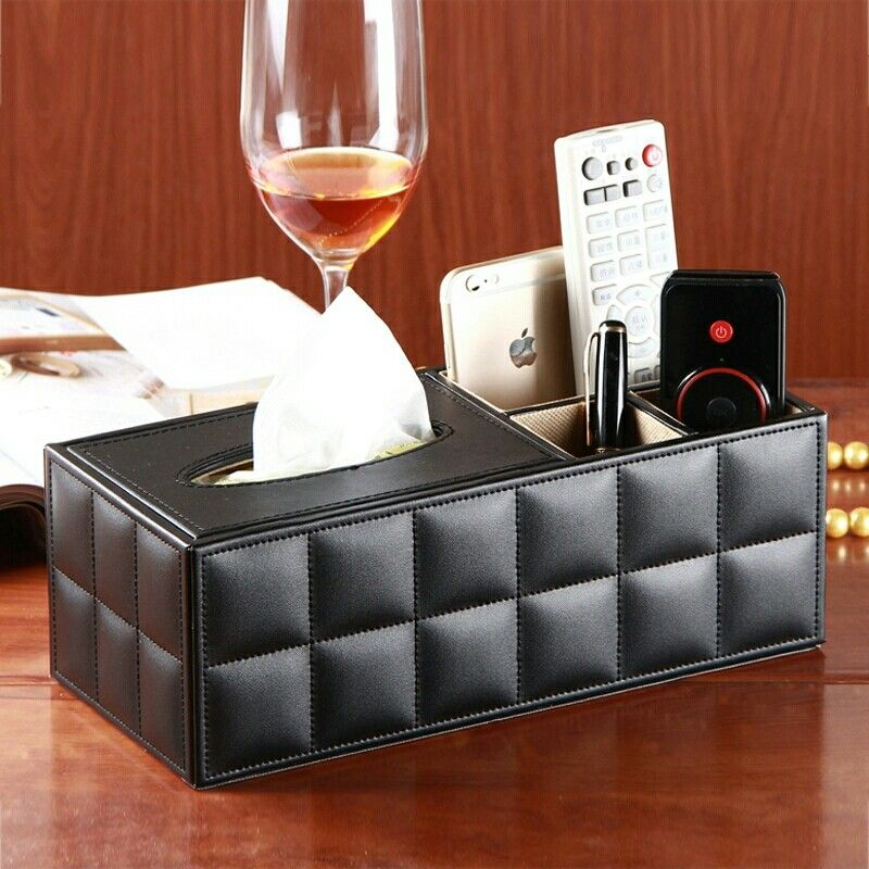 Coffee Table Box Quality Remote Control Storage Directly From China Suppliers Pu Leather Multifunctional Desktop