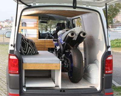 bullifaktur vw t4 t5 t6 transporter camper wohnmobil campervan motorrad vans motorrad. Black Bedroom Furniture Sets. Home Design Ideas