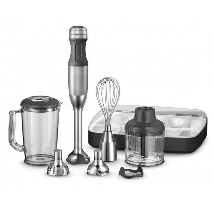 Kitchenaid Artisan Deluxe Hand Blender Stainless 5khb2569asx Kitchenaid Artisan Hand Blender Kitchen Aid