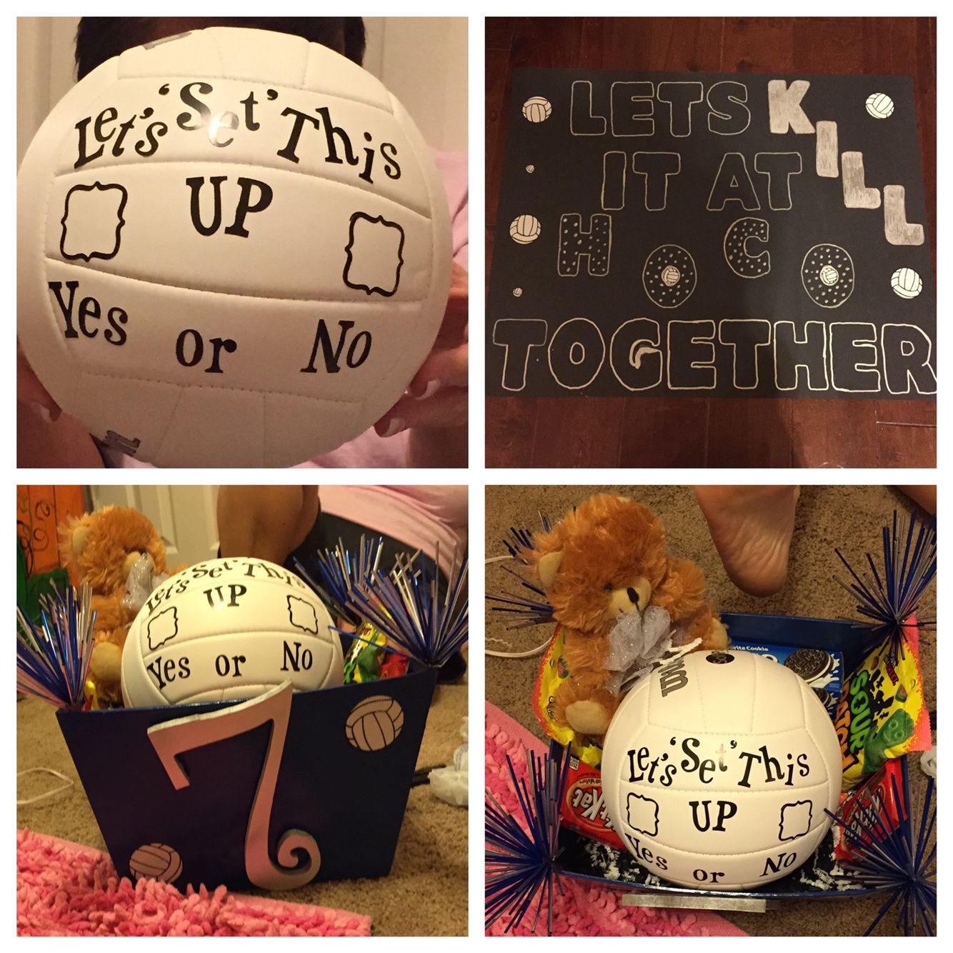 #volleyball #homecoming #proposal