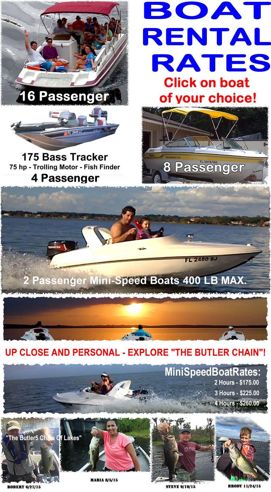 Butler boat rentals orlando fl boat rental florida