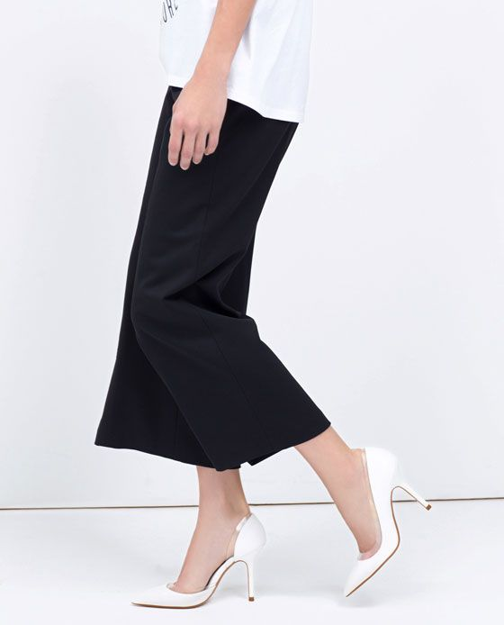 ZARA - WOMAN - VINYL HEEL COURT SHOE