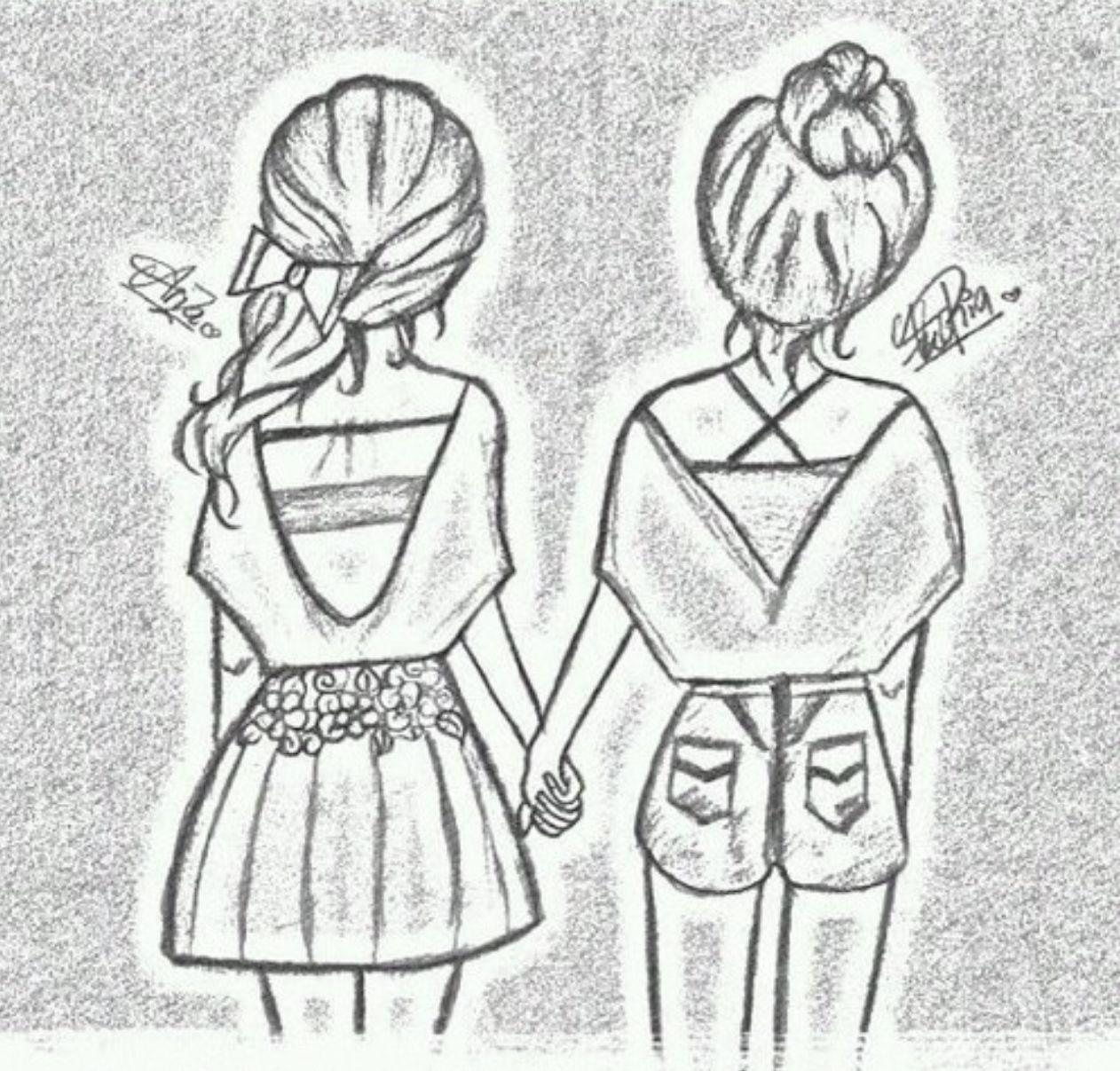 Ik Hou Van Knutselen Drawings Of Friends Best Friend Drawings Bff Drawings
