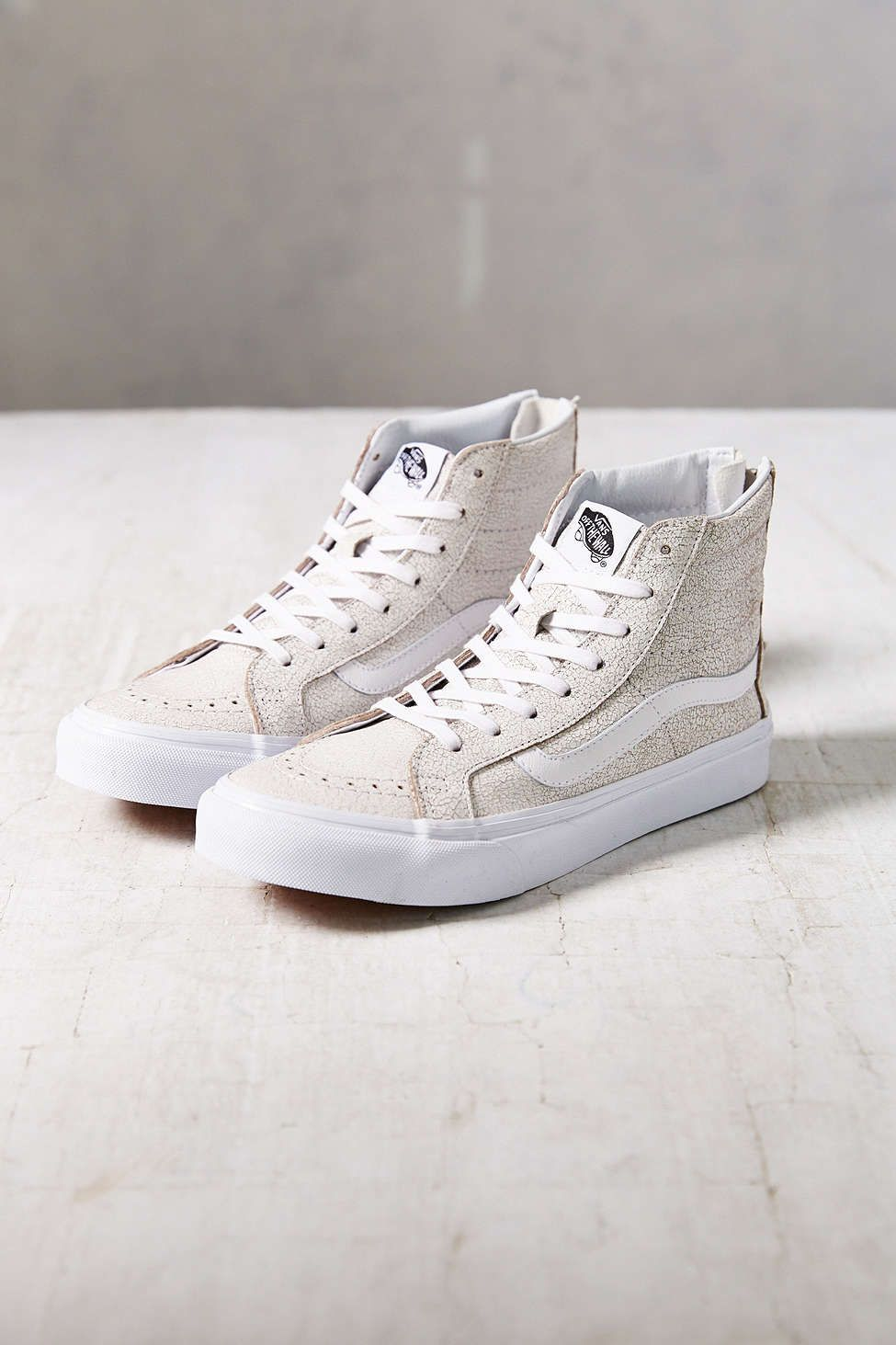 8f10e81d3b Vans Sk8-Hi Crackle Suede Womens Sneaker - Urban Outfitters