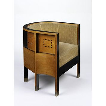 Armchair | Moser, Koloman | V&A Search the Collections