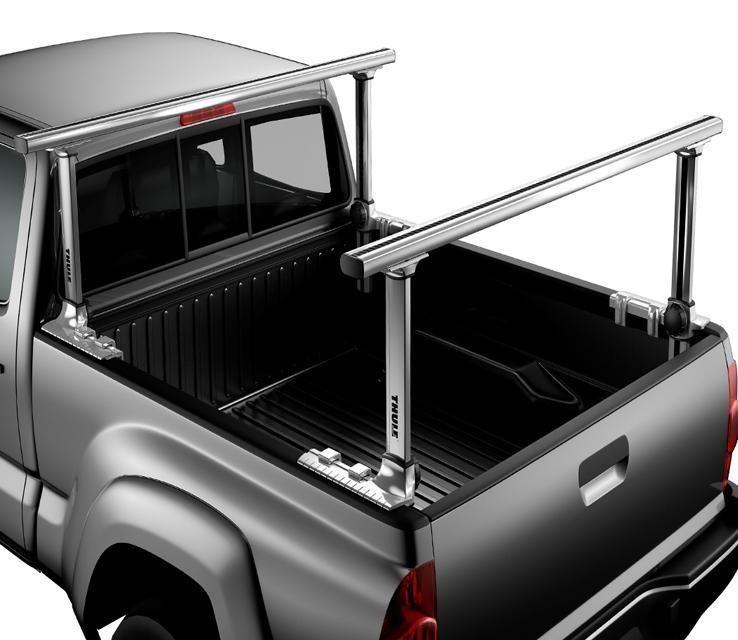 Thule Xsporter Pro 500xt Multi Height Aluminum Truck Rack